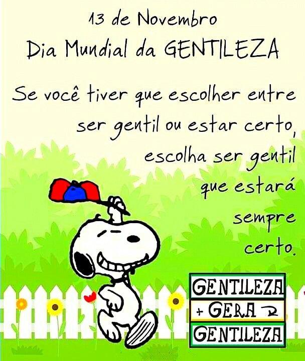 Pin De Yramaduran Em Snoopy Gentileza Frases Frases E