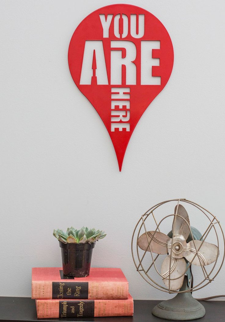 Here and Now Wall Decor,