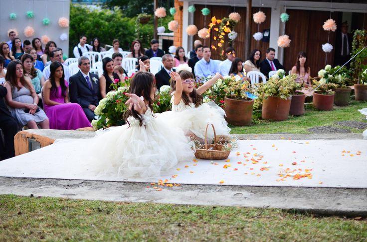 Diversión en la boda