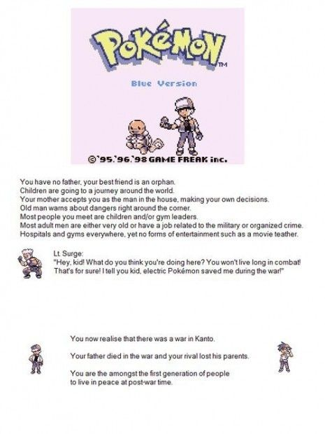 """The Pokemon """"War In Kanto"""" Theory 
