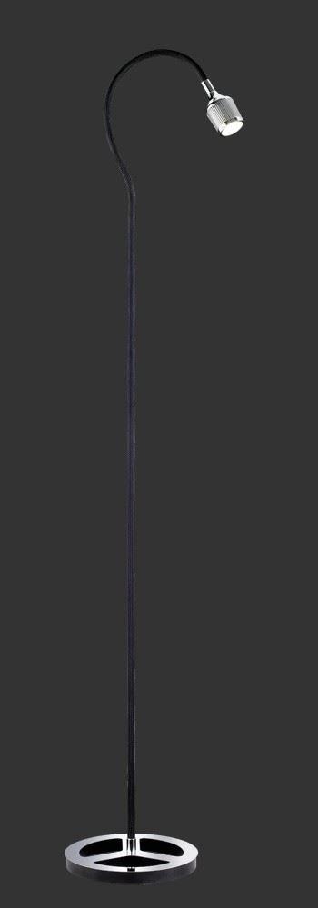 Vloerlamp Mamba Zwart ( 1X4,5W LED )