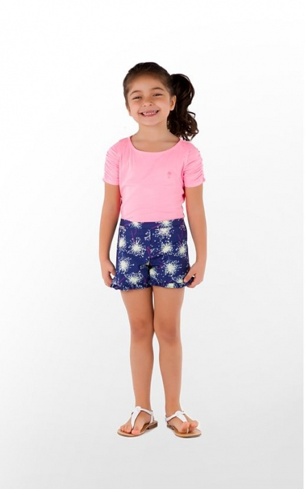 Minnies want to GLOW too! Lilly Pulitzer Little Callahan Shorts in Sparkle Glow, glow in the dark $44.00