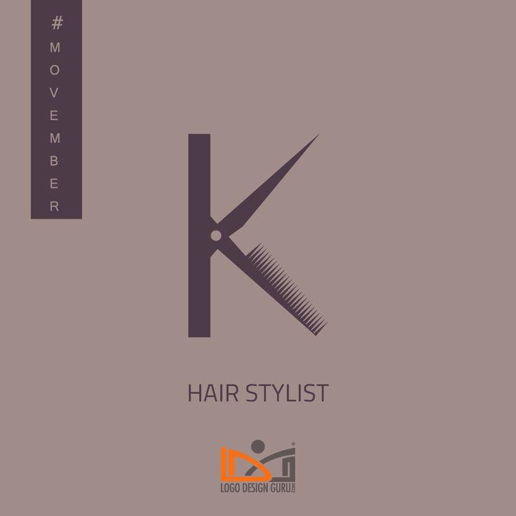 Hair Stylist - Logo inspiration for male grooming business #Movember #NoshaveNovember