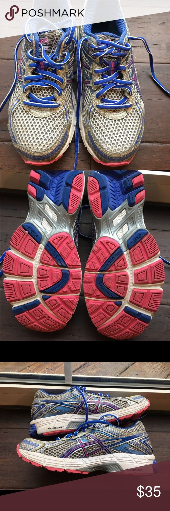 Asics Gel running sneakers Asics gel running sneaks in good condition. Asics Shoes Sneakers