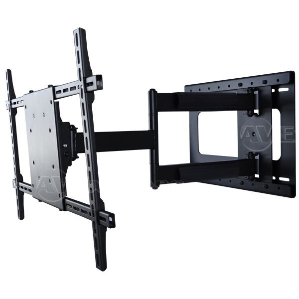 Adjustable corner tv mount