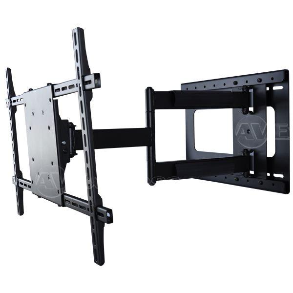 Adjustable corner tv mount