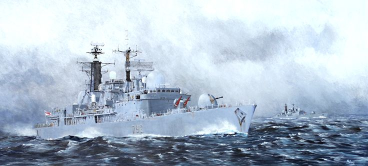 Type 42 Destroyers HMS Liverpool and HMS York
