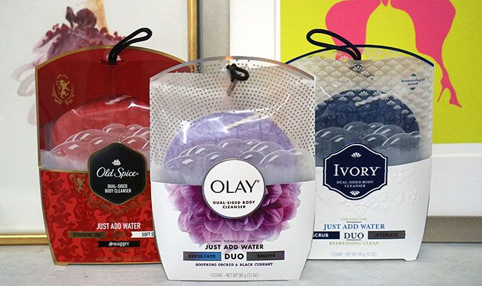 The best of a bar soap, exfoliator, body way and puff in one! The New DUO cleansing tool dropped this month in Olay, Ivory and Old Spice formulas and offers a 2x better clean than a basic body wash + puff. Click to see how it works and for our full review! #ShowerDUOver #ad http://bit.ly/2jy55AF