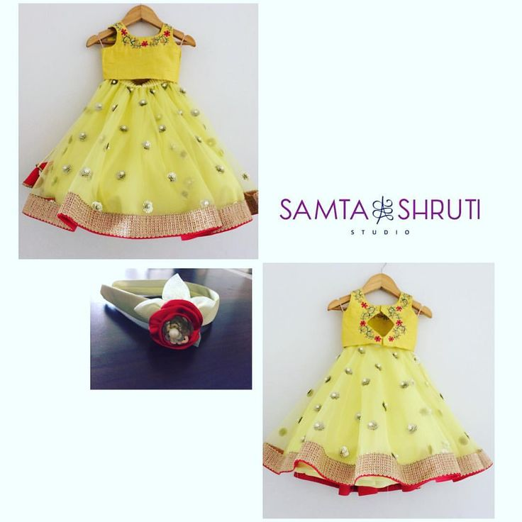 """47 Likes, 1 Comments - Samta & Shruti Studio (@samtaandshrutistudio) on Instagram: """"A yellow and mint green lehenga with sequence with pearl work and a matching…"""""""