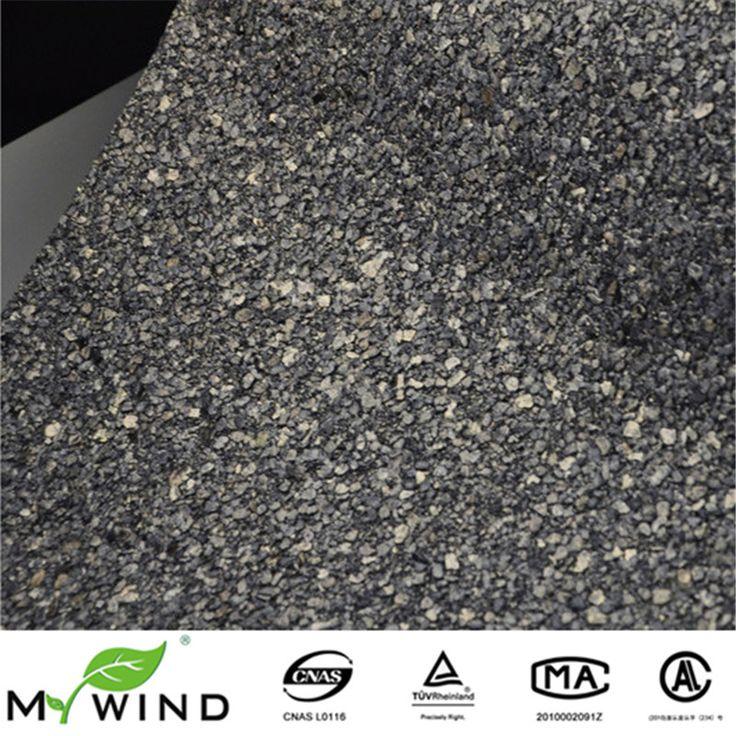 2017 nuovo colore vermiculite glitter navy pietra nera rivestimento murale mica hotel carta da parati per home living room decorazione della parete(China (Mainland))