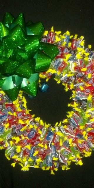 Candy Wreath - Jolly Rancher – With You in Mind Gift Creations