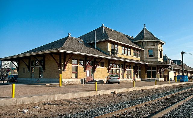 Saskatoon, SK train station by kla4067, via Flickr