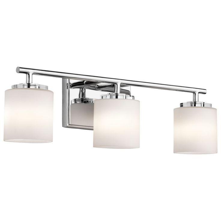 Kichler Lighting O Hara Chrome Bathroom Light at Destination Lighting