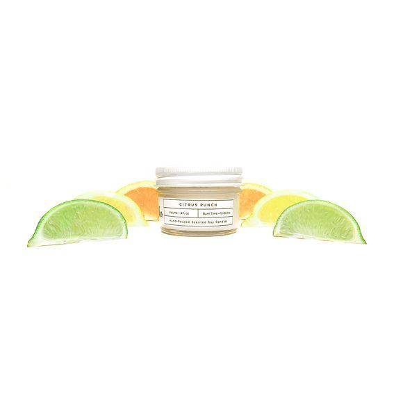 Soy Candle Citrus Punch 4oz