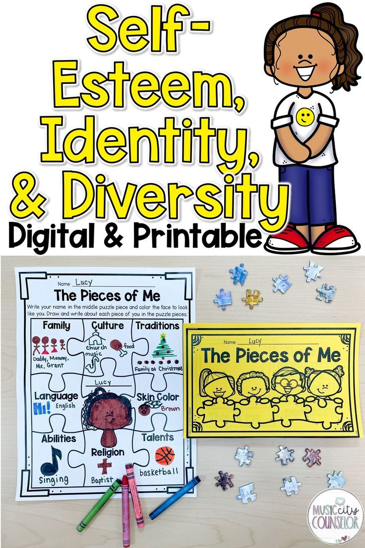 Diversity Identity Self Esteem Digital Distance Learning Printable Lesson In 2021 Social Emotional Learning Activities Self Esteem Activities School Counseling Activities [ 1104 x 736 Pixel ]