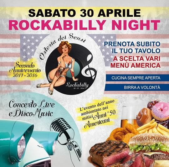 Rockabilly Night a Scarpizzolo http://www.panesalamina.com/2016/47065-rockabilly-night-a-san-paolo.html