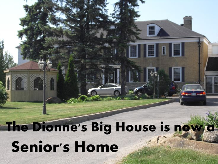 """Just walking distance from Dr. Defoe's laboratory """"Quintland"""" in Callander, Ontario, Canada.  THIS yellow brick, 20-room mansion paid for by the DIONNE QUINTUPLETS fund, was built for their entire family when their parents regained custody in 1943 after nine years of the girls being forced to live with Defoe & his staff.  (http://en.wikipedia.org/wiki/Dionne_quintuplets)"""
