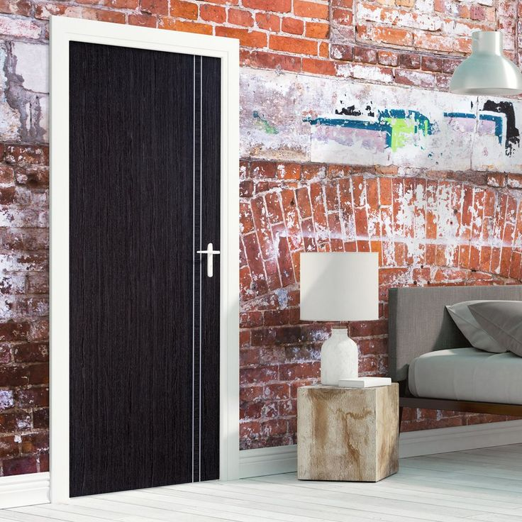 Bespoke Ash Grey Zanzibar Fire Rated Door - Prefinished.  #ashdoor #greydoor #moderninterior #internaldoor #door #contemporarydoor #ashgreydoor #moderninterior #interiordesigndoor