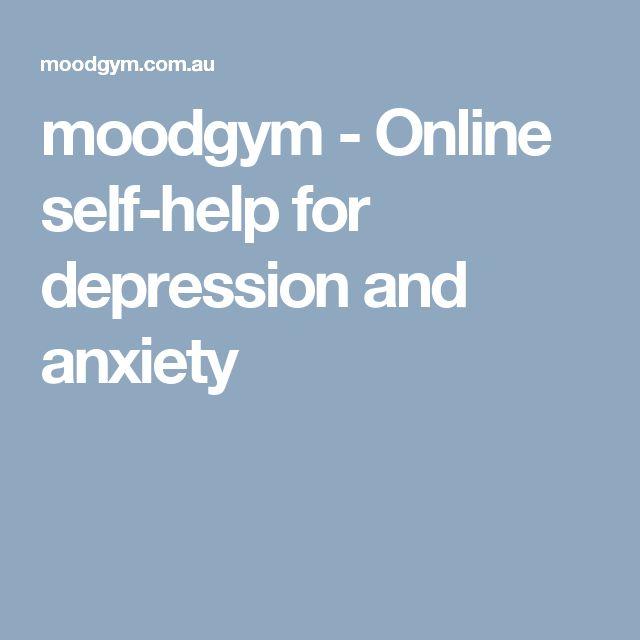MoodGym - interactive online program on CBT