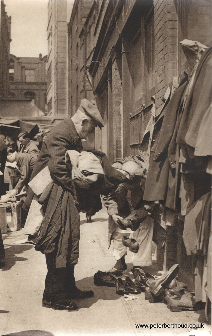 Brick Lane: Second-hand? No but they might be third-hand c.1930's.