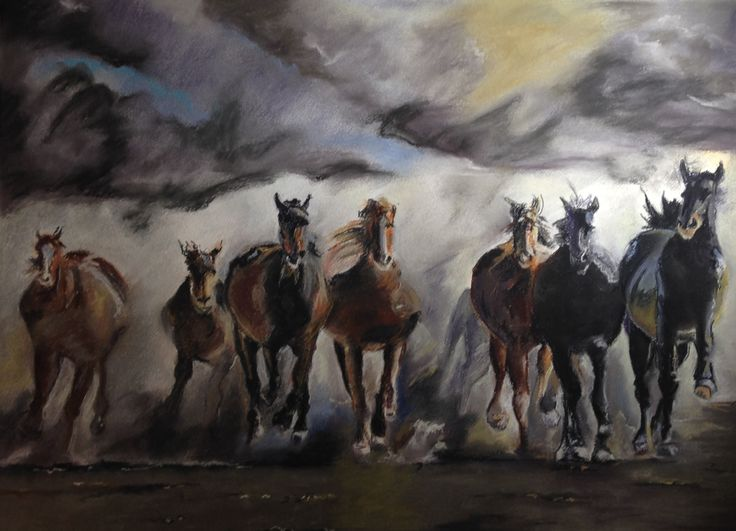 Horses By Eiman Muiny