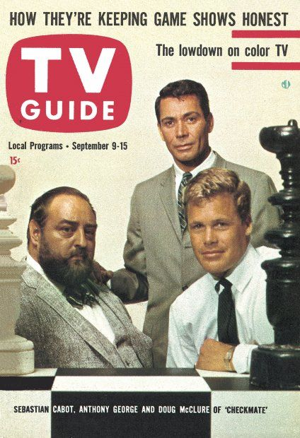 TV Guide: September 9, 1961 - Sebastian Cabot, Anthony George and Doug McClure…