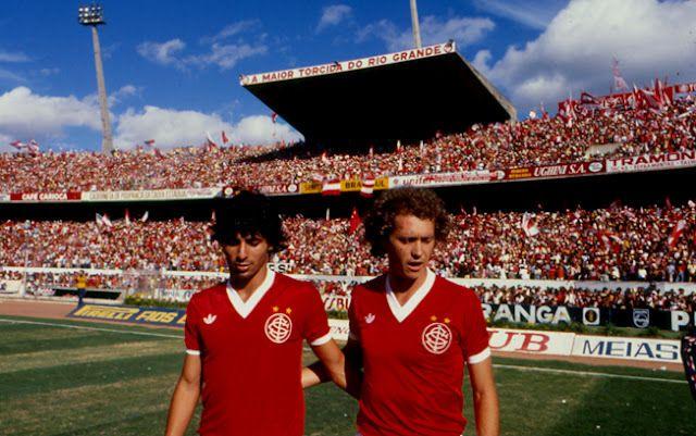 Mauro Galvão e Paulo Roberto Falcão.