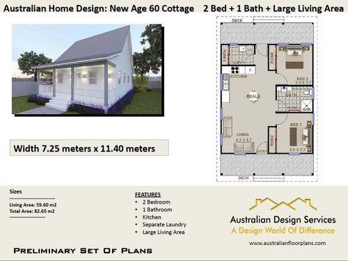 Astonishing 60 Cottage Free 2 Bed House Plan Australia Free 2 Bedroom Download Free Architecture Designs Intelgarnamadebymaigaardcom