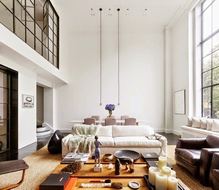 Sleek Upper West Side Duplex (Daily Dream Decor)