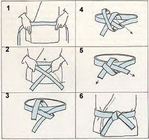 How to tie a belt #stylingtip