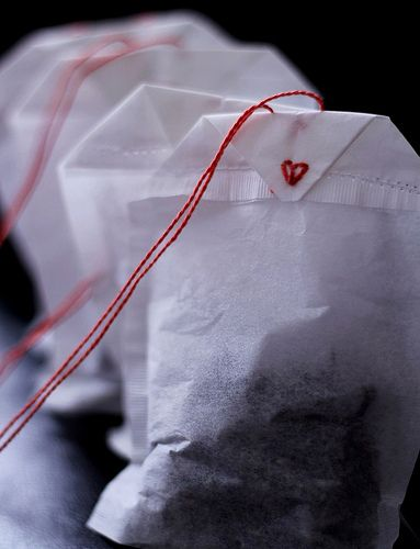 Bathtub tea bags. Easy DIY for gifts