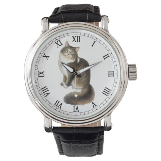 Duffy the Maine Coon Cat Watch #mainecoon #mainecooncat #cats #cat #watch #watches #wristwatch #catwatch #mainecoonwatch #fashion #style #accessories