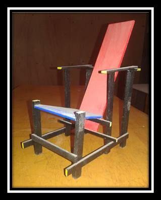 vista metrifica del mobiliario ( sillón )