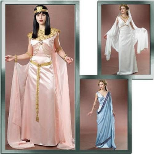 Cleopatra-Egyptian-Costume-Roman-Toga-Harem-Athena-McCalls-Sewing-Pattern-4954