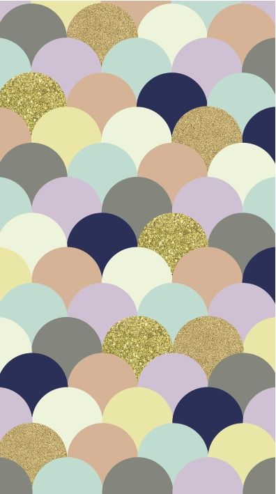 ... I know this is an iPhone background.... BUT.... if you cut half circles like this out of scrapbook paper and arranged them like this, maybe put them in a frame or something, that'd be really fun! I know you can get sparkly gold paper like that. Just a thought!