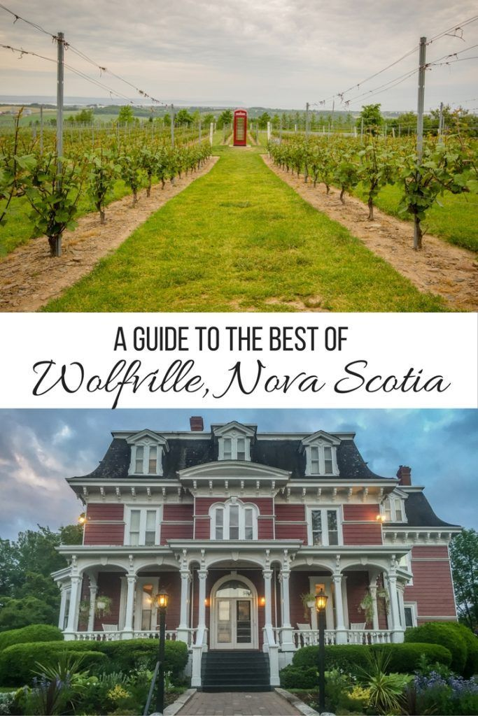 Exploring the wonderful wineries in Wolfville, Nova Scotia                                                                                                                                                                                 More
