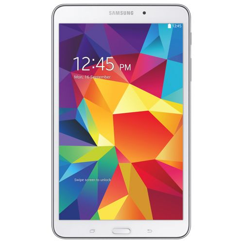 """Samsung Galaxy Tab 4 8"""" 16GB Android 4.4 Tablet With 1.2GHz Quad-Core Processor - White 279.99"""