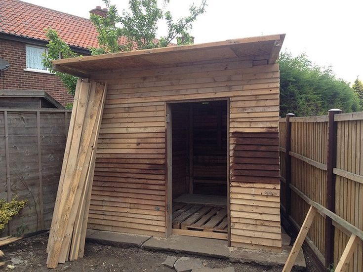 Diy wooden pallet shed projects pallet shed wooden diy