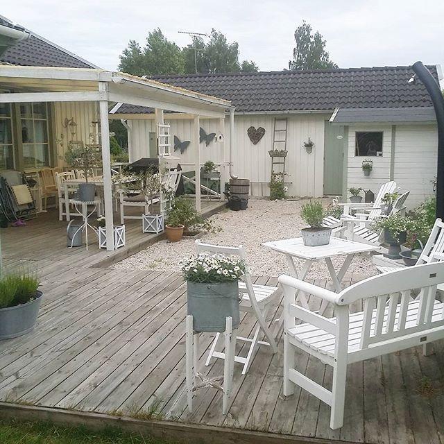 Nordic shabby per una splendida casa svedese