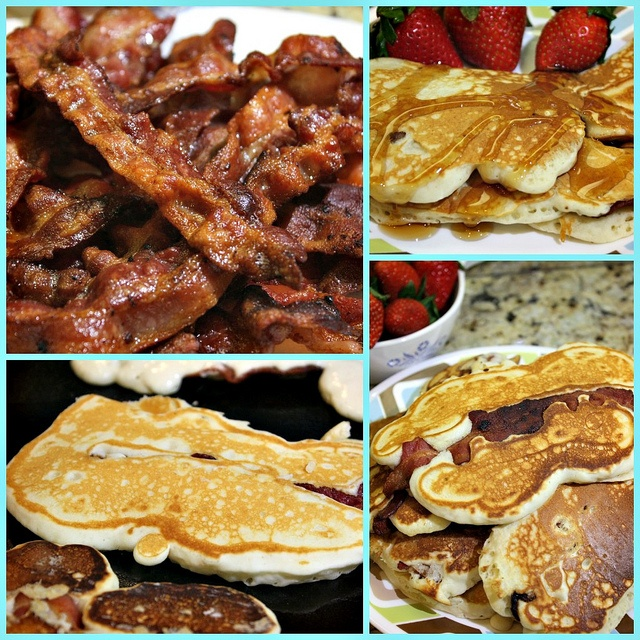 Bacon Strip Pancakes | I Made it! | Pinterest
