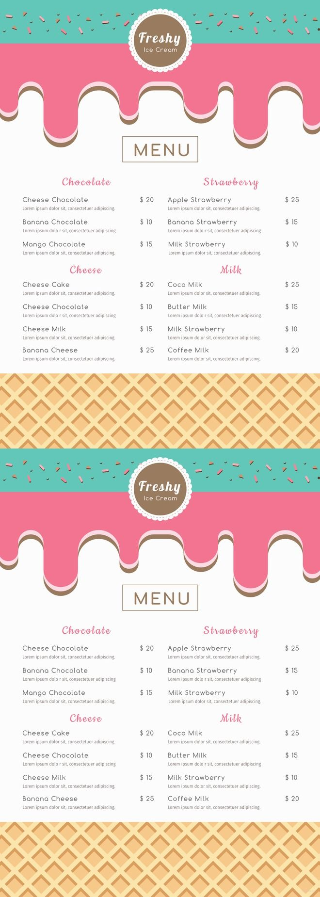 10 best Free Menu Templates images on Pinterest