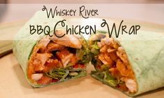 Whiskey River BBQ Chicken Wrap (Red Robin copycat recipe!)
