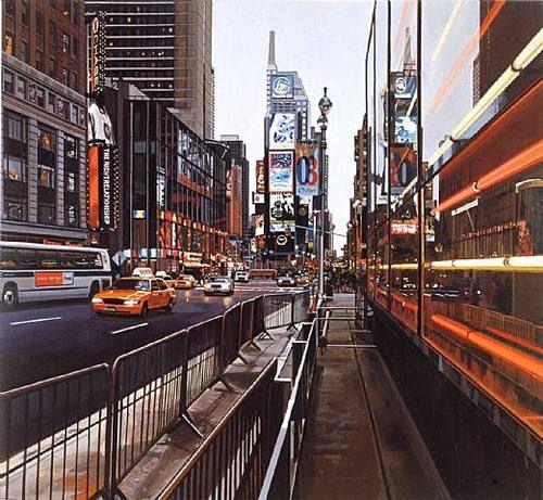 """Times Square"" | Richard Estes (2003)"