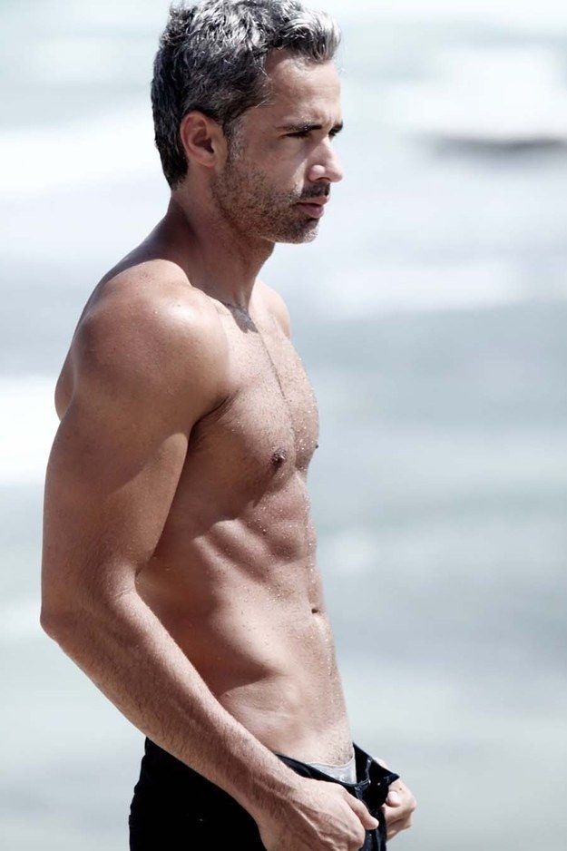 Antonio Borges, Model | 21 Disgustingly Hot Silver Foxes That'll Make You Fall In Love With Gray Hair