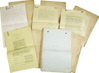 Original Film Treatments and Shooting Scripts by Lambert | Lot #31436 | Heritage Auctions