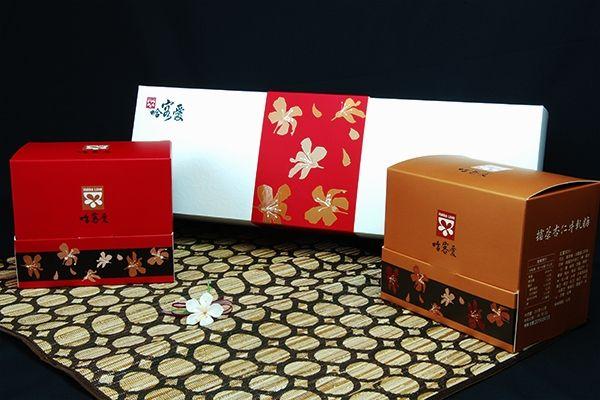 客家養生擂茶金桐禮盒內產品