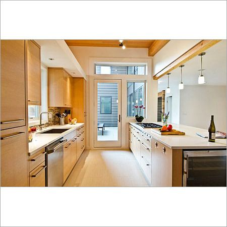 Open Galley Kitchen Designs parallel kitchen design ideas for india - google search | kitchen