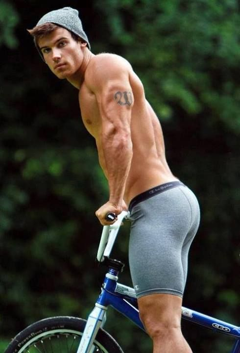 Normally I'd Say This Is A Terrible Idea, But... #cycleinyourundies #becareful #nicebutt :)