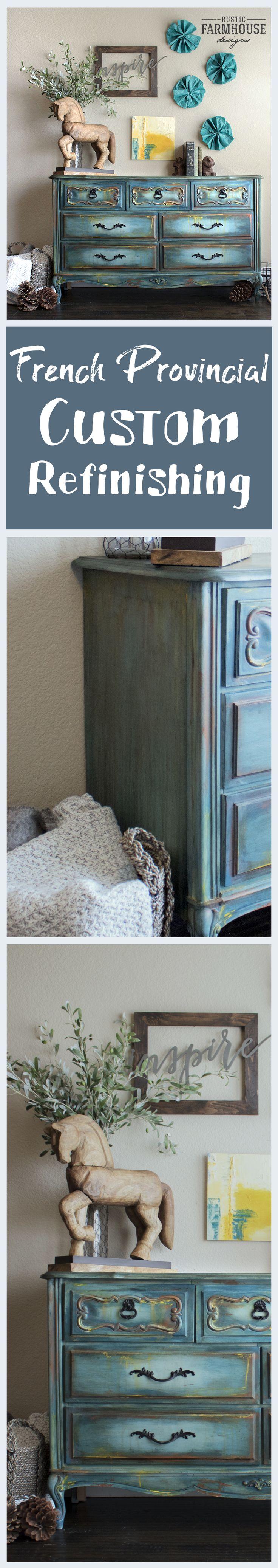 Custom Created Furniture - Painted Furniture - Rustic Farmhouse Designs