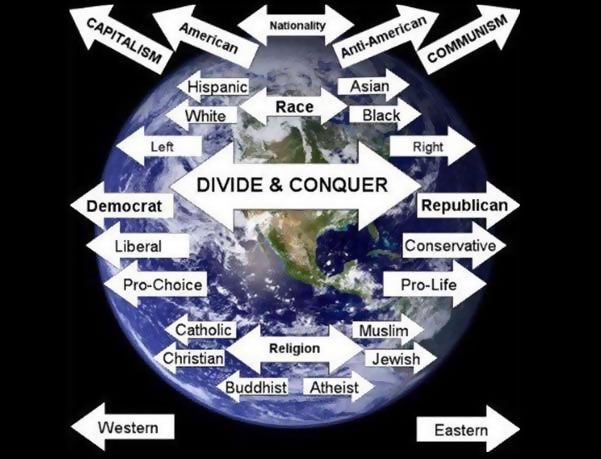 Divide and Conquer 101: America is Being Destabilized from Within